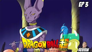 Dragon Ball Super - Season 1 Episode 3- Look for Super Saiyan God! Video Review