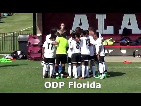 ODP Soccer Florida vs Georgia 1999 Boys 7-14-16