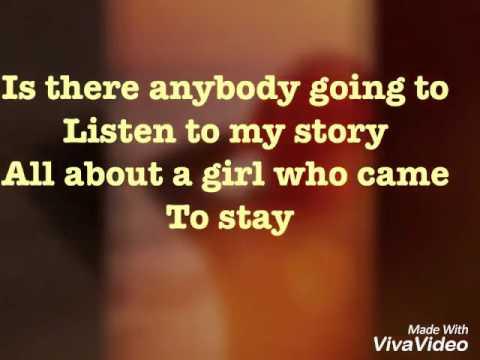 The beatles - Girl (with lyrics)