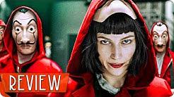 HAUS DES GELDES Staffel 1 & 2 Kritik Review (Serie 2018) Netflix