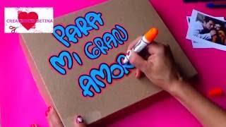 CAJA SORPRESA (SURPRICE BOX) - Dia De Amor y Amistad - CREACIONES BETINA