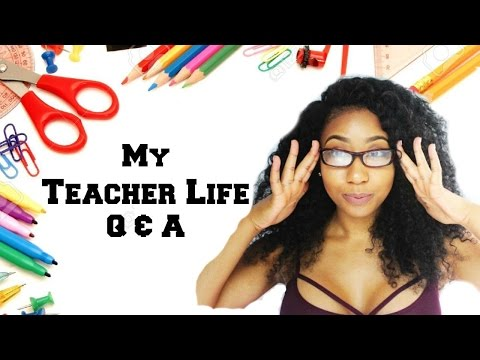 ♡ My Teacher Life Q&A • My Career, First Steps, Balancing YouTube and Teaching, and JOYS!