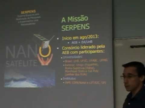 Sistema de determinação e controle de atitude da missão SERPENS II.