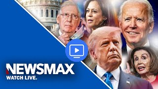 LIVE NOW: Presidential Election fallout and analysis on Newsmax TV