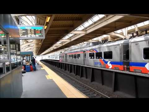 SEPTA Train Regional Rail Philadelphia Pa 2013