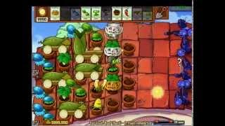 cara main plant vs zombies di atas atap tanpa bunga matahari