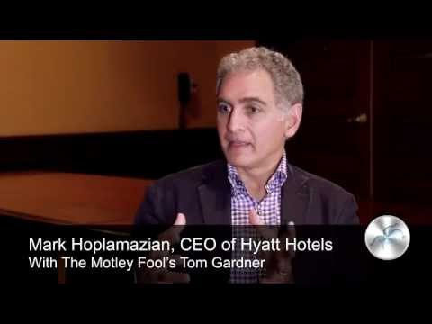 Hyatt Hotels' Value-Driving Culture | CEO Mark Hoplamazian, Interviewed by Tom Gardner
