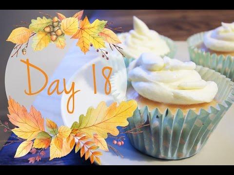 LABOUR-INDUCING CUPCAKES! // Vlogtober 18