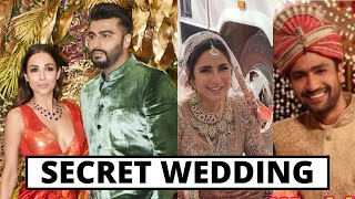New List Of 10 Secretly Married Bollywood Couples 2021, Katrina Kaif, Alia Bhatt, Neha Kakkar, Malai