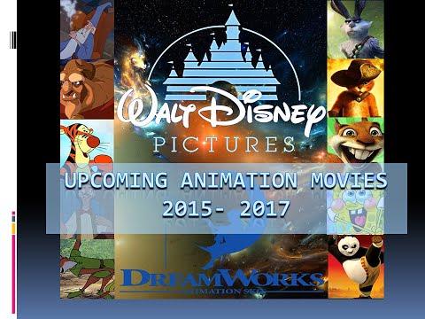 Upcoming Animated Movies 2015 To 2017