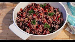 Best Quinoa Recipes - Healthy And Delicious Salad With Beets, Raisins And Walnuts - Quinoa Recipes