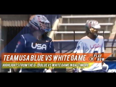 Team USA U-19 Blue vs White | 2015 Lax.com Highlights