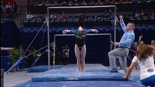 Florida Gymnastics: Alex McMurtry Perfect 10.0 Bars 2-10-17