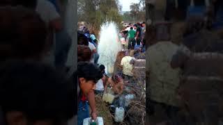Toma Clandestina en Tlahuelilpan Hidalgo