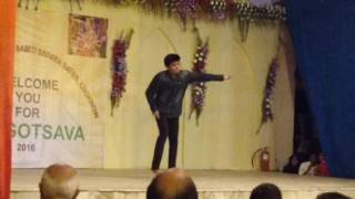 Aviral Srivastava Performance on 7th Oct Sahara State Jankipuram Lucknow