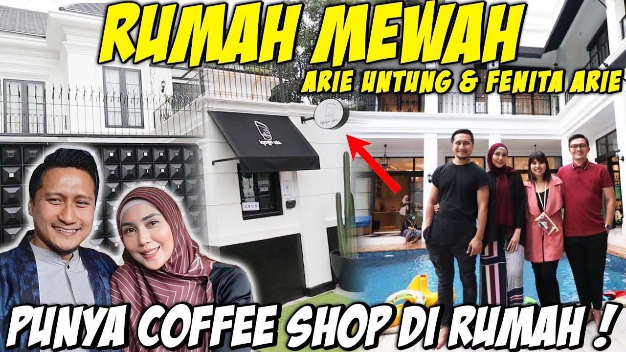 RUMAH MEWAH ARIE UNTUNG, MUSHOLLA YANG BESAR DAN PUNYA COFFEE SHOP DIRUMAH !