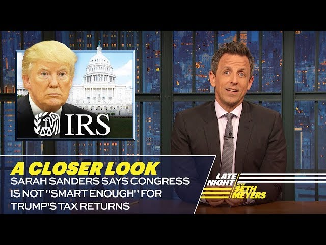 Sarah Sanders Says Congress Is Not
