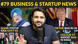 Business news #79   Amazon-Google-Facebook-Tesla Profit,TikTok Ban,SBI,Rebel Foods