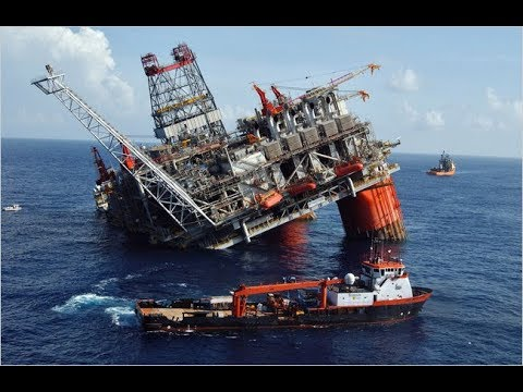 Oil and Gas Rig Sinking