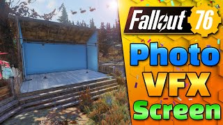 PHOTO & MOVIE CAMP SET - FALLOUT 76 - CAMP BUILDING!