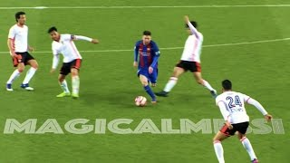When Lionel Messi Dribbles Past Everyone - Vs 3 Or More Players - HD