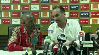 Kocha wa JS Saoura akemea vyombo vya habari vya Tanzania baada ya kichapo cha  Simba CAF CL