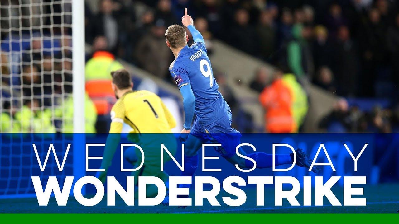 Wednesday Wonderstrike | Jamie Vardy vs. Tottenham Hotspur ...