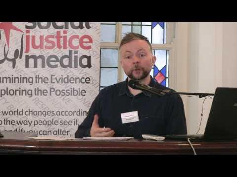 Gavan Titley, Media Lecturer NUIM. Respect Words Seminar, Dublin, 10th April 2017