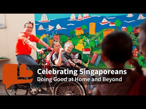 Celebrating Singaporeans Who Give Back With Love, at Home and Beyond