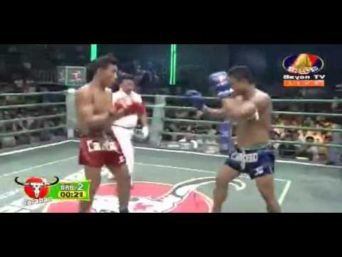 Best International Khmer Boxing Ung Vireak Vs Chaloeurm Det Mauy Thai (BTV) 7/2/2016