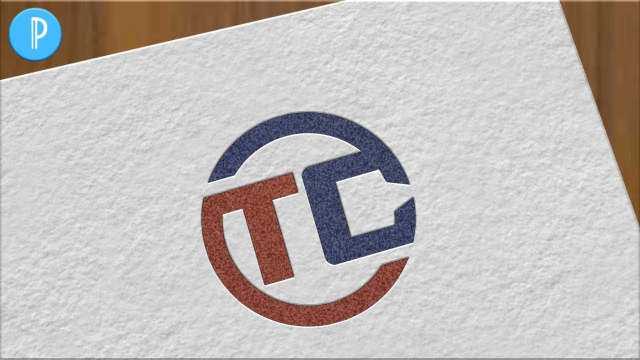 TC Professional Logo Design | Cara Desain Logo Brand Di Android Pakai Aplikasi Pixellab