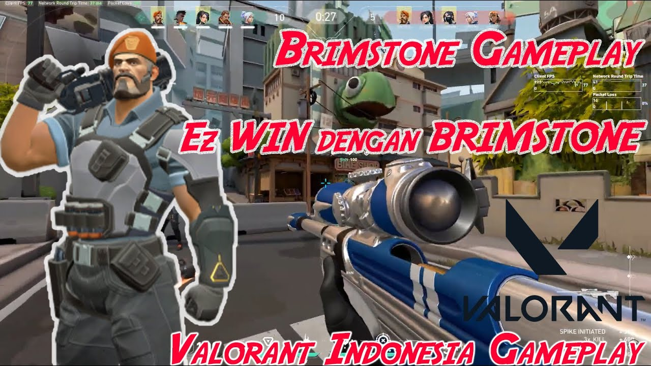 Brimstone, Auto Menang Bawa Agent ini (VALORANT Indonesia Gameplay)