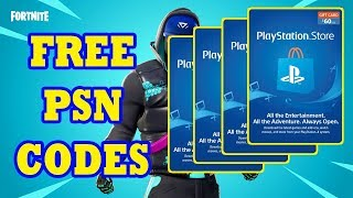Free PSN Codes | pro fortnite live giveaway gift cards for new sub