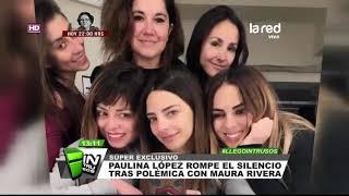 Paulina López rompe el silencio y se descarga contra sus ex colegas del musical