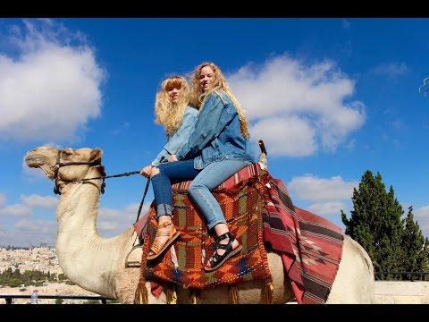 RIDING A CAMEL IN JERUSALEM! Israel Travel Vlog