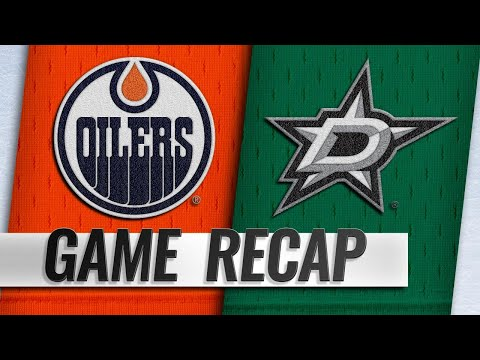 Ritchie, Khudobin lead Stars to 4-1 win over Oilers