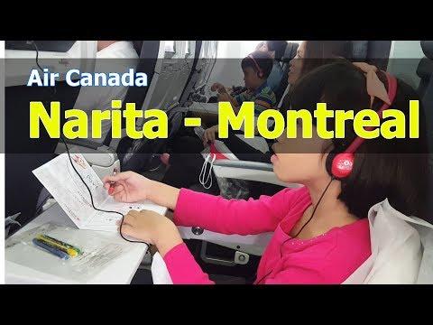 Air Canada From Narita, Tokyo, Japan To Montreal, Canada