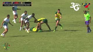 FISU Rugby 7's Men's SF1 Namibia vs Australia World Cup 2018