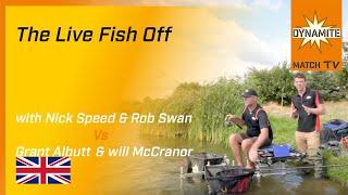 Match Fishing - Live Fish Off: Nick Speed & Rob Swan v Grant Albutt & Will McCranor