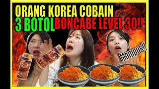 [Mampus!!!!]ORANG KOREA COBAIN 3 BOTOL BONCABE LEV 30 KEHAPUS MAKEUP!!본짜베 30 도전기!!