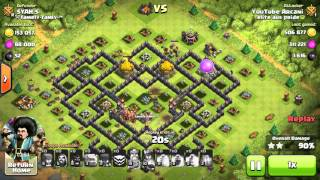 Arcani - 'The Clash Man' 1 million loot 1,000,000 Clash of Clans Th9