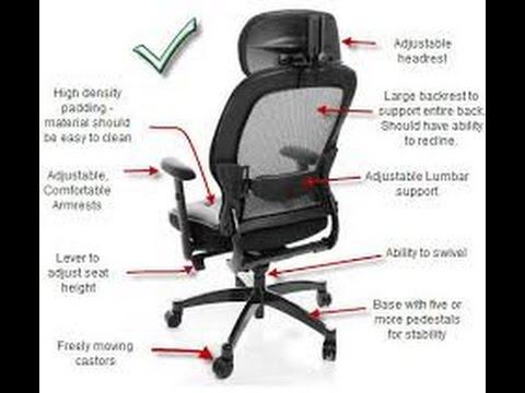 Ergonomics Chairs for Back pain  YouTube