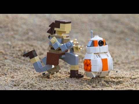 "LEGO ""Star Wars: The Force Awakens"" Miniland teaser for LEGOLAND Florida"