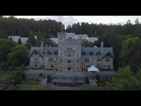 Hatley Castle, Colwood, Vancouver Island, B.C., Canada By RSamson