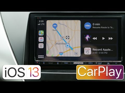 iOS 13 CarPlay - What's New?