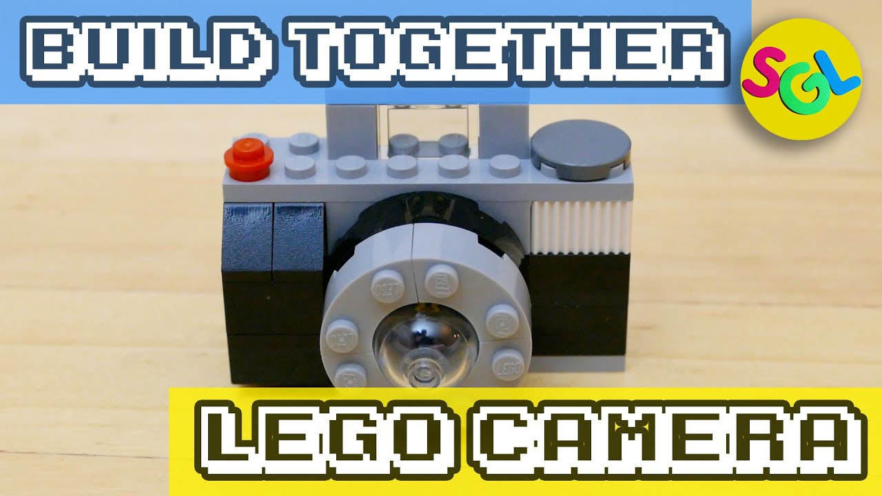 lego camera how to build a camera from lego classics 10698 large creative brick box youtube. Black Bedroom Furniture Sets. Home Design Ideas