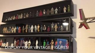 Display your vintage Kenner Star Wars figures