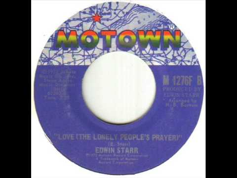 Edwin Starr Love The Lonely People's Prayer
