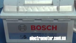 Аккумулятор Bosch 6СТ-77 Ач s5 silver plus(Аккумулятор Bosch 6СТ-77 Ач s5 silver plus http://electromotor.com.ua/video/battery/2833-bosch-6ct-77-s5-silver-plus Автомобильные аккумуляторы бош,..., 2011-11-02T18:22:26.000Z)