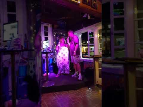 Karaoke at Two Friends in Key West